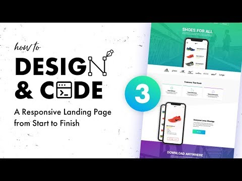 3 - Design & Code a Responsive Landing Page from Start to Finish | Wireframe & Mood Board