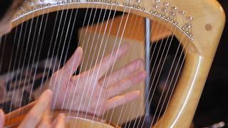安達摩澄先生 竪琴演奏 最新録音