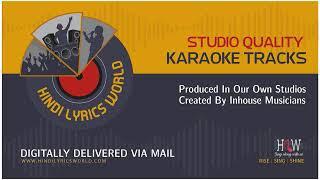 Khoya Khoya Chaand Karaoke With Scrolling Lyrics - YouTube