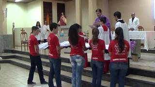 Investidura de Novos Acólitos - Missa do 5º Domingo da Quaresma (17.03.2018)