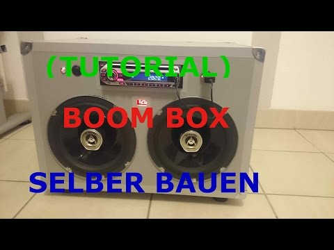 (TUTORIAL) PORTABLE PARTY BOOMBOX SELBER BAUEN
