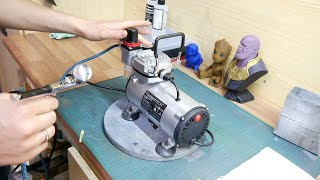 Testing The CHEAPEST Airbrush KIT I Could Find. AWESOME Timbertech Airbrush KIT