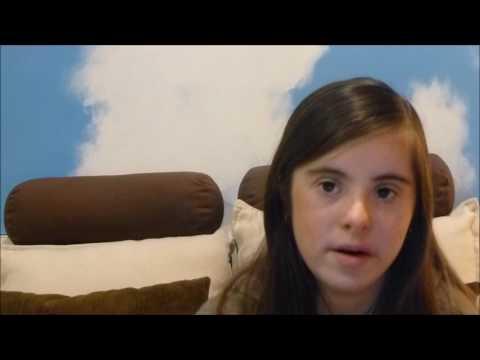 Ver vídeoArianna explica qué es tener síndrome de Down