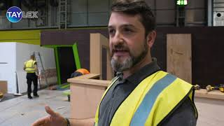 Kawasaki Exhibition Stand Build From Motorcycle Live, NEC 2018