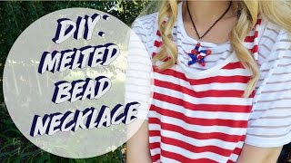 DIY: Melted Bead Necklace │Summer Crafts Pt. 3