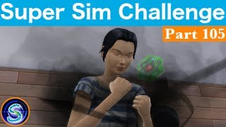 Let's Play The Sims 4 | Super Sim Challenge | Training Offspring | Part 105