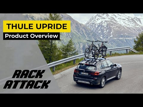 Thule 599 UpRide Roof Mounted Bike Rack Overview
