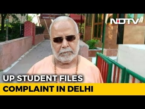 UP Student Accuses BJP's Chinmayanand Of Rape, Files Complaint In Delhi