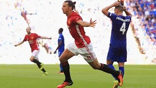 Manchester United V Leicester City 21 All Goals & Highlights FA Cup Community Shield 2016