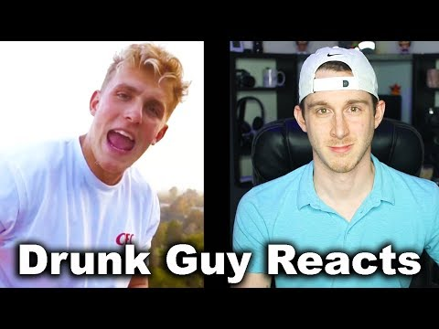 Dr*nk Guy Reacts To - Jake Paul - It's Everyday Bro (Feat Team 10) Official Music Video