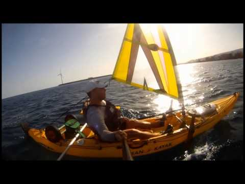 Sail windsurf kayak