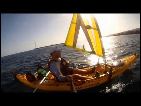 Sail windsurf kayak