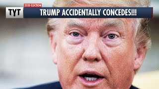 Trump Accidentally Concedes! thumbnail