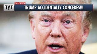 Trump Accidentally Concedes! thumbnail