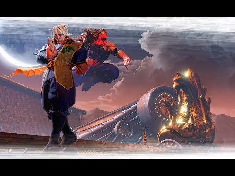 Street Fighter V: Zeku Reveal Trailer