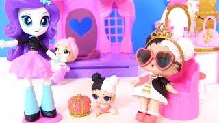 Куклы Лол Мультик! Папа и Мама для Пупсов Лол! Салон Пони для кукол Лол!