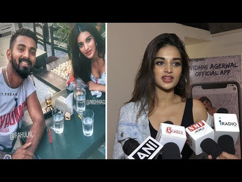 Nidhhi Agerwal About Dating KL Rahul | Nidhhi Agerwal Latest Interview 2018