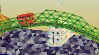 ALL BRIDGES COMPLETE   Poly Bridge #4