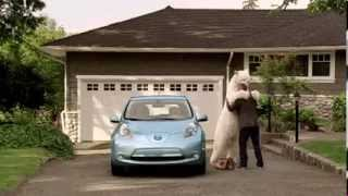 Самая трогательная в мире реклама   Nissan LEAF  «Polar Bear»