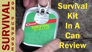 Survival Kit In A Can Review - Survival Gear