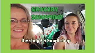 GROCERY SHOPPING big family shop VS small family shop - Aussie family of 18