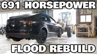Restoring a Flood salvage Tesla Model X Part 2: Charger Troubles