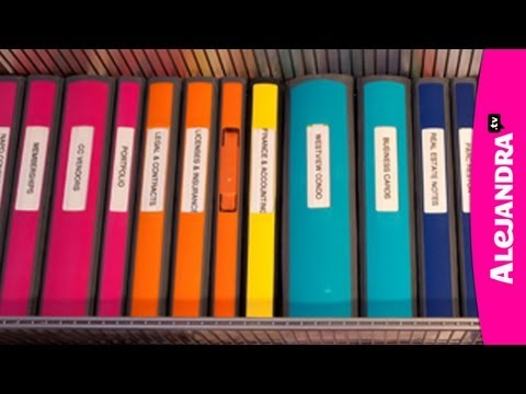 Binder Organization – Best Binders & Dividers to Use for Home Office or School Papers