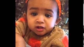CHRIS BROWN'S DAUGHTER ROYALTY --- PICS