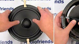 Repair foam surrounds 8 inch speaker - Bose, Infinity, Cerwin Vega, etc.