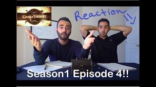 "Game of Thrones Season 1 Episode 4 REACTION!! ""Cripples,  Bastards, and Broken Things"""