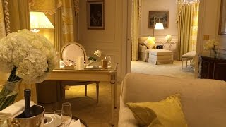 "Perfect Paris Trip - George V Hotel ""George V Suite"" - 3 Star Michelin Eats & More"