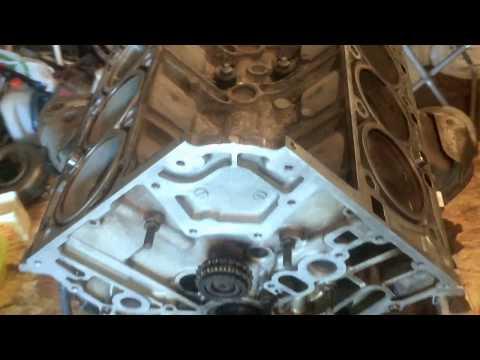 Ремонт двигателя Mercedes GL 550 M273 1 серия
