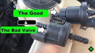 P2422 Evaporative Emission System Vent Valve Stuck Closed