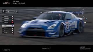 Gran Turismo™SPORT - Dragon Trail Seaside Nissan GTR Gr2 (online race) v3