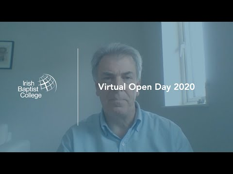 IBC Video: Virtual Open Day // Peter Firth - Tutor