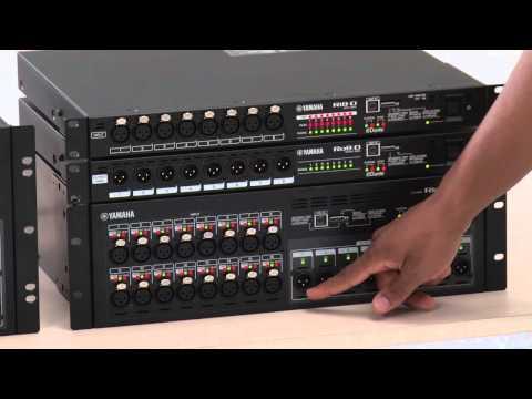 Yamaha Rio3224-D I/O RACK 64x