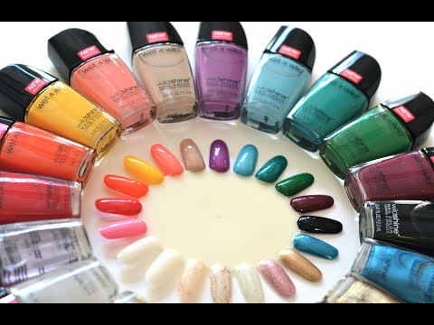 REVIEW: Wet n Wild Wild Shine Nail Polish