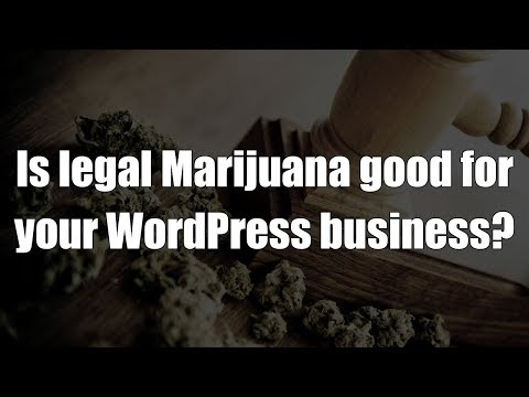 Episode 059: Is legal Marijuana good for your WordPress business? Podcast