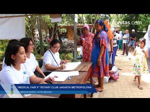 """Medical Fair V"" Rotary Club Jakarta Metropolitan di Bekasi"