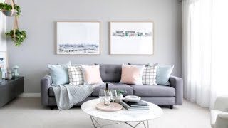 45+ Gorgeous Grey Living Room Ideas