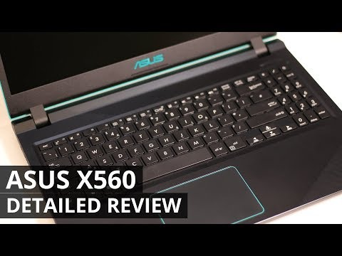 ASUS X560 NOTEBOOK REVIEW -  FORTNITE GAMING ON A BUDGET LAPTOP