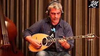 Dimitris Mistakidis demonstrates our bouzouki pickup.