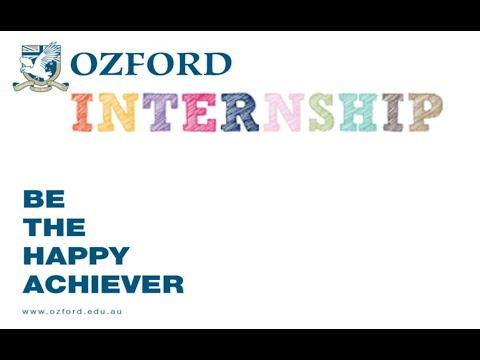 Ozford Internship Program