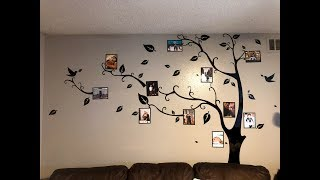 DIY Family Tree Wall Decal From Amazon