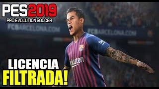 PES 2019   BRUTAL LICENCIA FILTRADA!!!