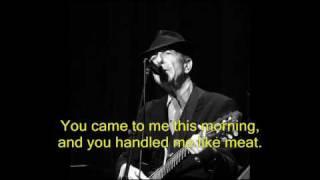 Thousand Kisses Deep - Leonard Cohen, London 2009 לאונרד כהן לונדון