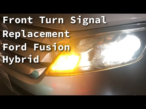 2012 Ford Fusion Hybrid  Front Left Front Turn Signal  Replacement
