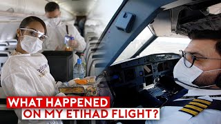 Piloting Through The Pandemic – What Happened On My Etihad Flight?
