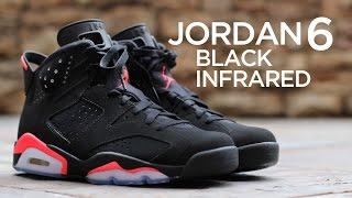 Closer Look: Air Jordan 6 Retro - Black/Infrared | Kholo.pk