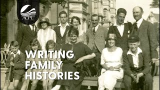 Genealogy: Writing Personal Histories